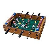ZSDGY Mini Mesa de fútbol Sala de Madera, máquina de futbolín, 4 billares Futbolines