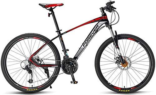 26 bicicleta de montaña plegable 27 velocidades suspensión completa bicicleta doble disco freno MTB-A