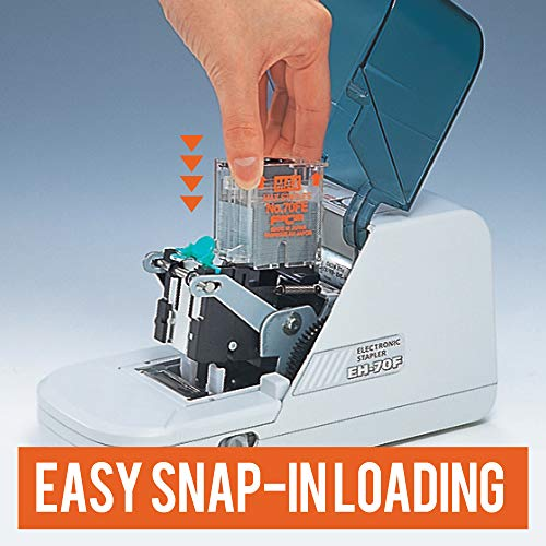 Max NO70FE Staple Cartridge for EH-70F Flat-Clinch Electric Stapler (Box of 5000) Photo #4