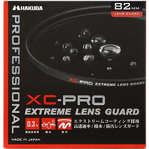 HAKUBA 82mm レンズフィルター XC-PRO 高透過率 撥水防汚 薄枠 日本製 レンズ保護用 CF-XCPRLG82