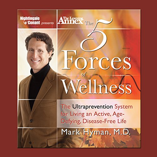 The Five Forces of Wellness audiobook cover art
