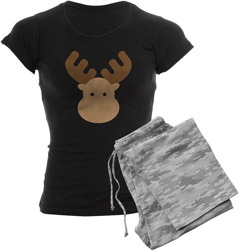 OUTLET SALE CafePress Moose Women's Pajamas 予約 Dark PJs