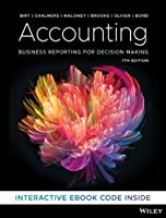 Accounting: Business Reporting for Decision Making