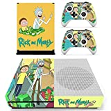 Callula & Partner Protective Vinyl Skin Decal Cover for Xbox One S Console Wrap Sticker Skins with Two Free Wireless Controller Decals Funny cartoon