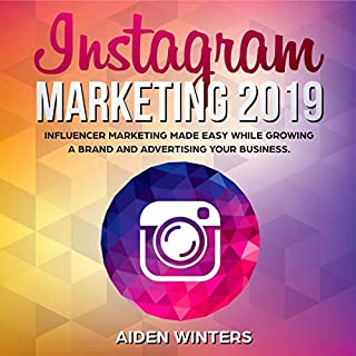 Instagram Marketing 2019 audiobook cover art