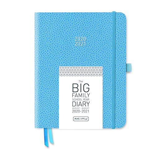 The Big Family Schuljahreskalender 2020-21 himmelblau