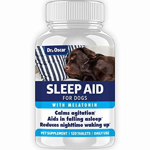 Organic Dog Sleep Aid for Dogs, Better Than Melatonin for Dogs 3mg or...
