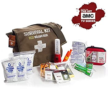 Image: Official Survival Kit of AMC's The Walking Dead TV show | large military style messenger bag | Perfect survival kit for two people and great for college students