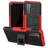 ftrongrt cover per asus rog phone 5 ultimate, [protezione robusta] [armatura sottile] hybrid dual layer armor soft tpu bumper pc rigida protettiva case -rosso