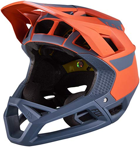 Fox Proframe Helmet Quo, Ce Blood Orange L