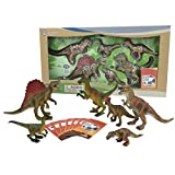 Nature Bound Dinosaur Safari Toys Large Set with Collector Cards