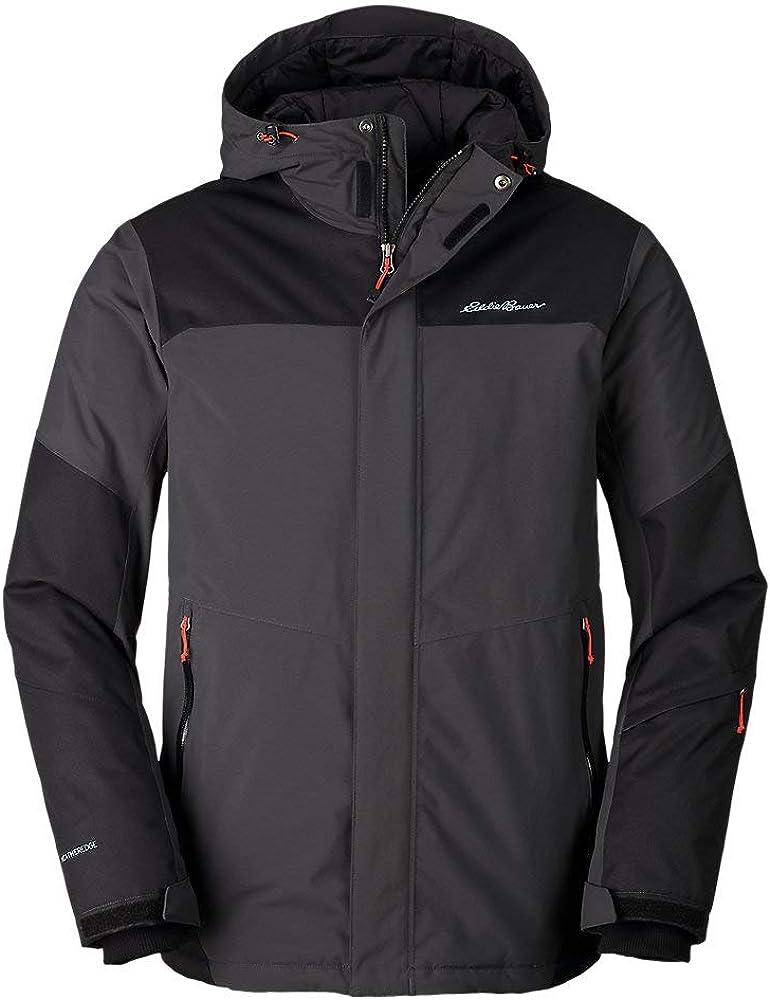 Eddie Bauer Men's Powder Search Pro Insulated Jacket, Carbon Regular