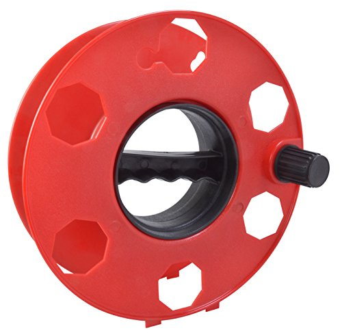 red extension cord spool