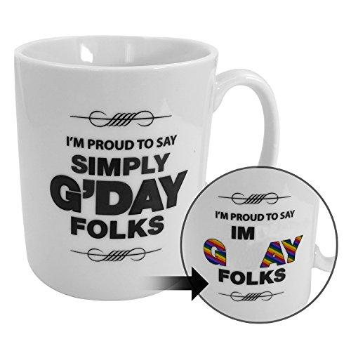 Boxer Gifts G'Day Folks Behind Lines Mug