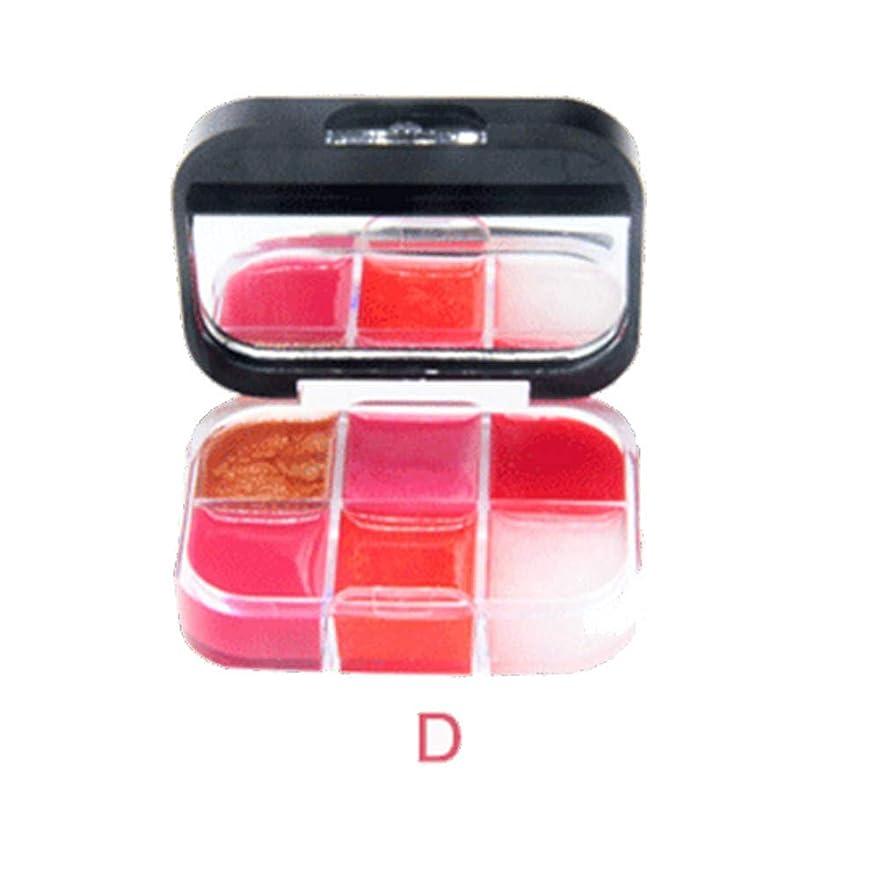 合わせて月ファイバ美は口紅の保湿剤の唇の光沢の化粧品セットを構成します