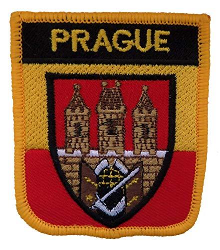 1000 Flaggen Prag Tschechische Republik Schild Bestickt Aufnäher Abzeichen