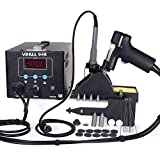YIHUA 948 ESD Safe 2 in 1 80W Desoldering Station and 60W Soldering Iron- Desoldering Gun and Soldering Station °F /°C