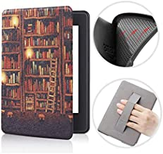 Capa Kindle Básico 10ª geração com Iluminação Embutida - Função Liga/Desliga - Fechamento magnético - Silicone com Alça de...