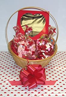 Scott's Cakes Large Cupids Helper Valentine Basket Handle Heart Wrapping