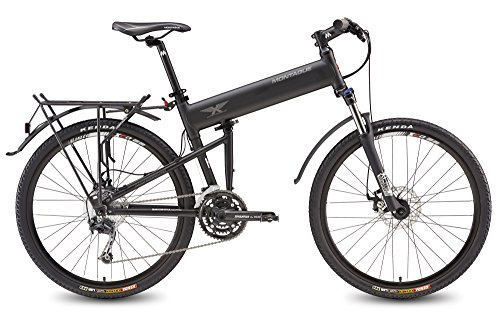 Learn More About Montague Paratrooper Pro Folding Mountain Bike 20 Frame, 27 Speeds - New Model
