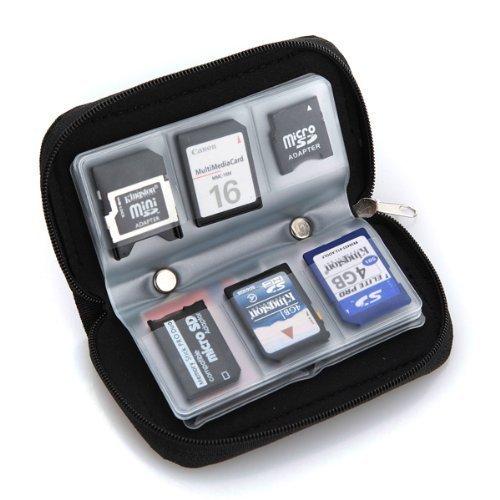 Oceanmap - Estuche guardar tarjetas memoria SD capacidad