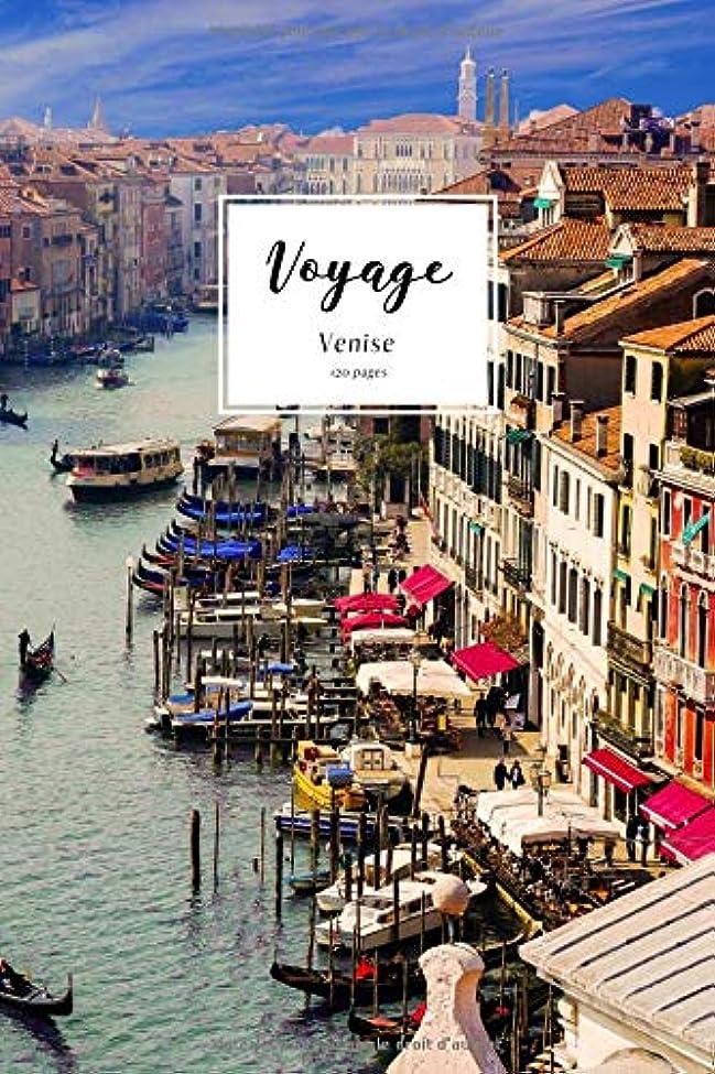 割り込みセールスマン沈黙Voyage: Un carnet de notes ligné pour vos voyages et aventures-thème Venise vintage