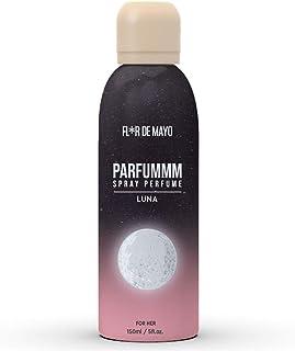 Perfume Oriental-Vainilla para Mujer Larga Duración Perfume en Formato Spray 150 ml Ideal para regalo (LUNA)