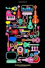 Scaricare Libri Quaderno pentagrammato - Pentagramma per musica a quaderno, 110 pagine 15,24 x 22,86 cm PDF