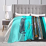 Eppedtul 57 Chevy Ultra-Soft Micro Fleece Blanket Couch 50'' X40