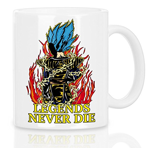 Legends Never Die - Vegeta Blue God Mode Tasse avec motif