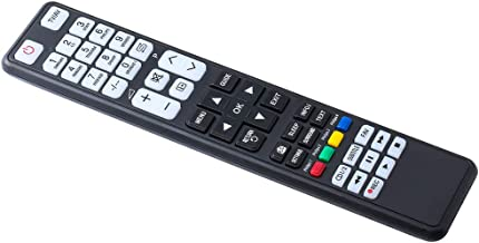 TV Remote Control Universal for LG,Sony,Samsung,Panasonic,Toshiba,Philips,Hisense,Sharp,Grundig TVs,Black