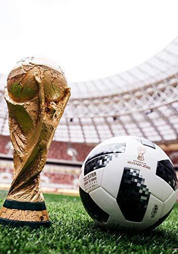 Copa del Mundo 2018 Trofeo and Smart Balón de Fútbol Póster 10946 (A3-A4-A5) - A3