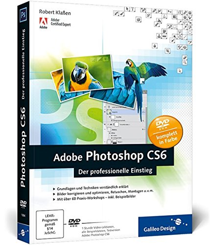 Adobe Photoshop CS6: Der professionelle Einstieg (Galileo Design)