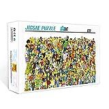 1000 piezas de mini rompecabezas para adultos The Simpsons Juego educativo para niños juguetes Rompecabezas de 1000 piezas para adultos y niños 70x50cm