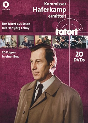 Tatort - Kommissar Haferkamp / Komplett-BOX [20 DVDs]
