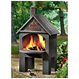 Cabin-Style Cooking Chiminea