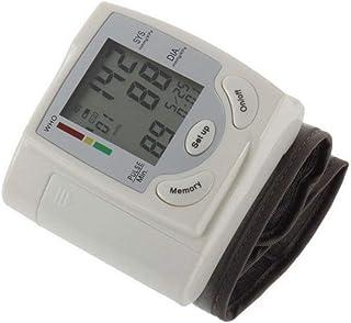XYJCY Monitor de presión Arterial de muñeca/Monitor de presión Arterial Cuidado de la Salud en los Ancianos Memoria Indicaciones de Voz multifunción Baterías portátiles para el hogar Muñeca ABS