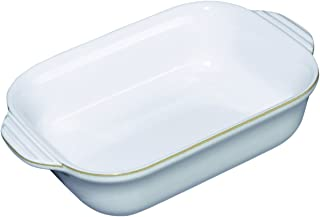 Denby USA Natural Canvas Small Rectangular Oven Dish, Cream