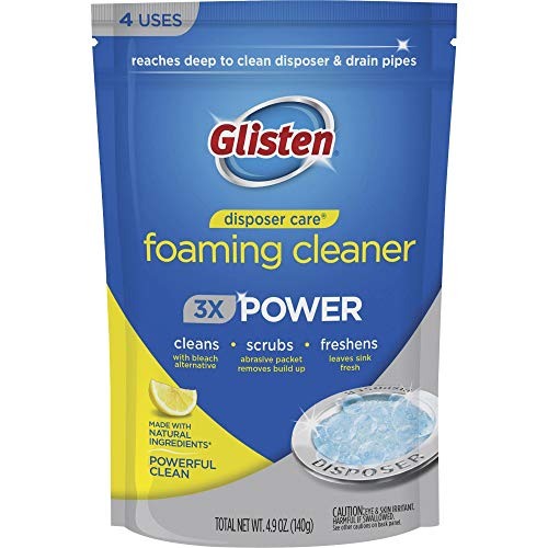 Glisten Disposer Care Foaming Drain/Pipe Cleaner, 4.93 Ounce (Pack of...