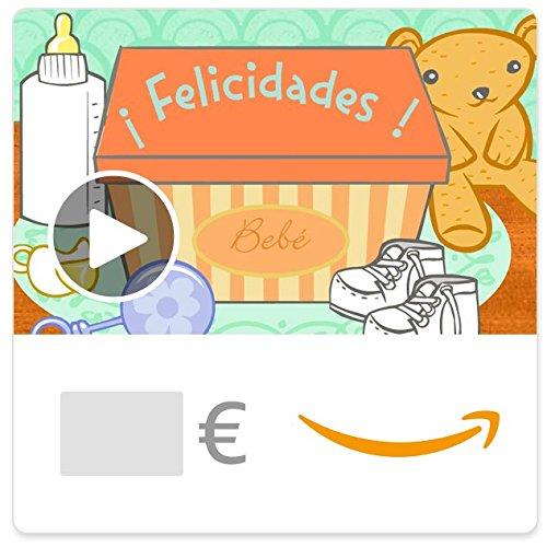 Cheque Regalo de Amazon.es - E-Cheque Regalo - Bebé ilumina tu mundo (animación)