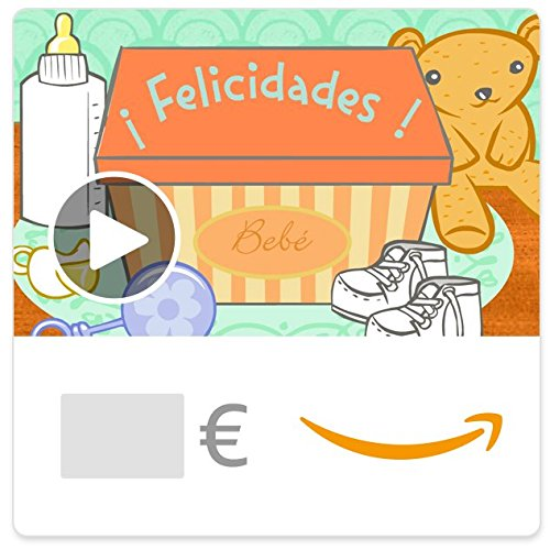 Cheque Regalo de Amazon.es - E-Cheque Regalo - Bebé ilumina tu mundo (animación)