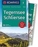 KOMPASS Wanderführer Tegernsee, Schliersee: Wanderführer mit Extra-Tourenkarte 1:40.000, 55 Touren, GPX-Daten zum Download