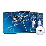 ダンロップ(DUNLOP) ゴルフボール スリクソン AD SPEED 2020年モデル 1ダース(12個入り) ホワイト
