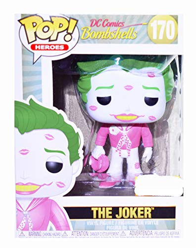 Funko POP! Heroes: DC Bombshells - The Joker [Pink Shirt] #170 Exclusive