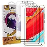 Guran 4 Paquete Cristal Templado Protector de Pantalla para Xiaomi Redmi S2 Smartphone 9H Dureza Anti-Ara?azos Alta Definicion Transparente Película