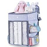 Organizer per pannolini, grande da appendere, per fasciatoio, culla, gioco o parete, ideale come regalo per la nascita del neonato