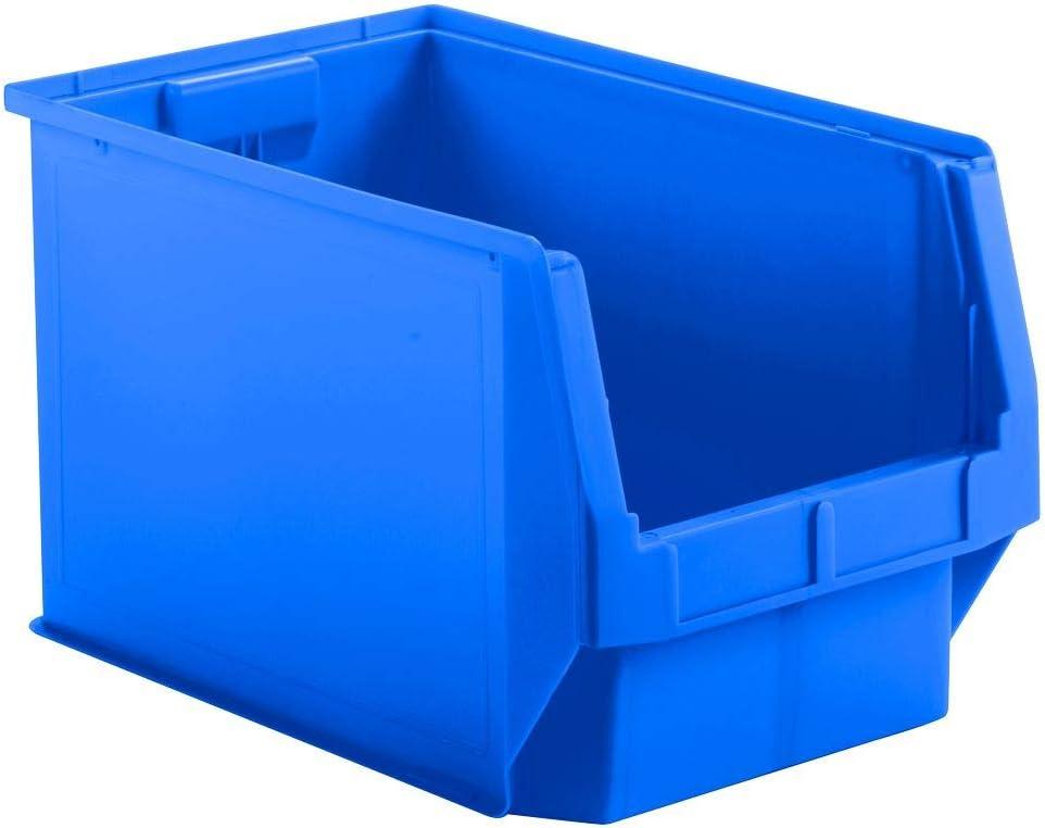 Sichtlagerkasten LF 533 gelb Schäfer Kasten Kiste Lagerkasten 5 St 500x320x300