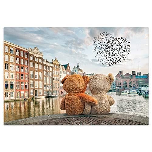 Postkarten +++ DIN A6 AMSTERDAM Motiv: Friends I stadtecken I Hochwertige Ansichtskarten I Leben & Momente Lustig I Postkarten Postcrossing I Geschenk I Geschenkidee