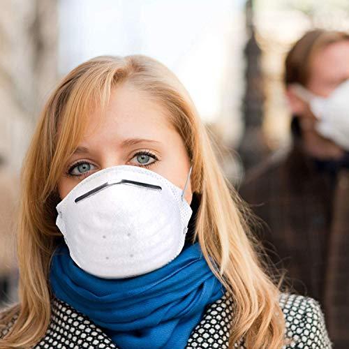 10 STÜCKE N95 FFP2 Mund Staubschutzmaske Falten Schutzmaske Hängen(Eine Million Masken sind auf Lager, und Bestellungen Werden Heute versendet.) - 7