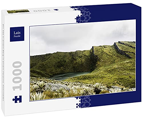 Lais Jigsaw Puzzle A lake in a mountain in a Paramo, Colombia 1000 pieces